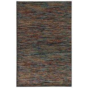 "Transocean Darien Lines Indoor Rug Multi 5'3""x7'6"", Multi, large"