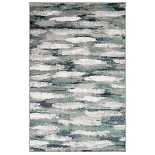 """Transocean Livingston Clouds Indoor Rug Blue 5'3""""x7'6"""", Blue, large"""