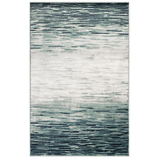 """Transocean Livingston Melange Indoor Rug Blue 5'3""""x7'6"""", Blue, large"""