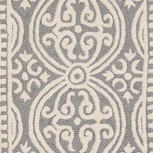 Cambridge 2' x 3' Wool Pile Rug, , large
