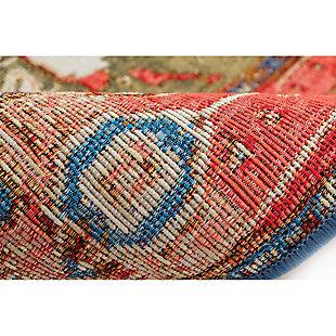"Transocean Gorham Serapi Indoor/Outdoor Rug Red 7'10""x9'10"", Red, large"