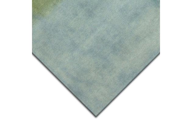 "Transocean Milano Patina Indoor Rug Sea Breeze 5'x7'6"", Blue, large"