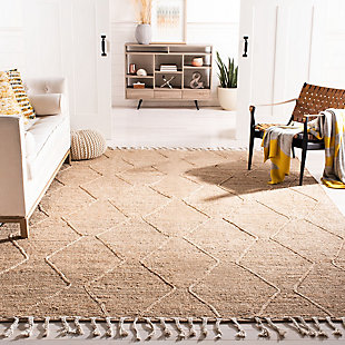 Safavieh Natural Fiber 8' x 10' Area Rug, Natural, rollover