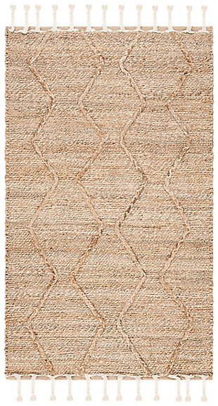 Safavieh Natural Fiber 8' x 10' Area Rug, Natural, large