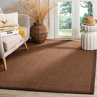 Safavieh Natural Fiber 5' x 8' Area Rug, Brown, rollover