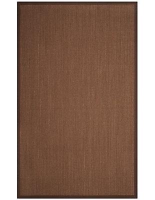 Safavieh Natural Fiber 5' x 8' Area Rug, Brown, large