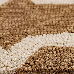 """Trapani Diamonds 3'6"""" x 5'6"""" Indoor/Outdoor Rug, Camel, large"""
