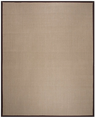 Safavieh Natural Fiber 8' x 10' Area Rug, Sage/Brown, large