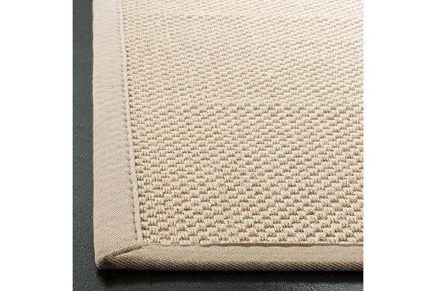 Safavieh Natural Fiber 5' x 8' Area Rug, Ivory/Light Beige, large
