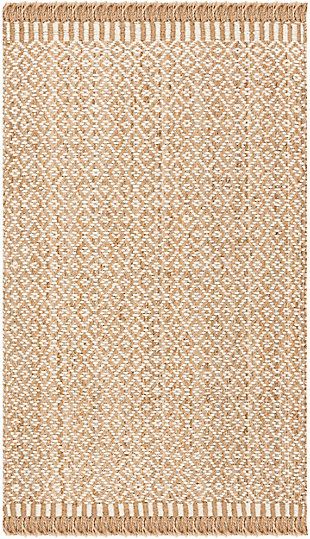 Safavieh Natural Fiber 6' x 9' Area Rug, Natural/Ivory, large