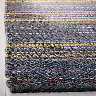 Safavieh Natural Fiber 5' x 8' Area Rug, Blue/Gold, large