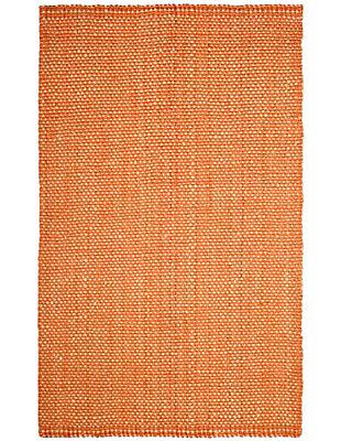 Safavieh Natural Fiber 5' x 8' Area Rug, Rust/Natural, large