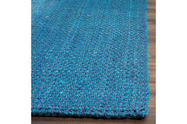 Safavieh Natural Fiber 5' x 8' Area Rug, Blue, large