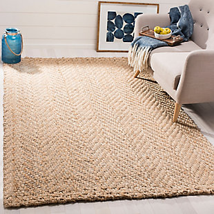 Safavieh Natural Fiber 5' x 8' Area Rug, Natural, rollover