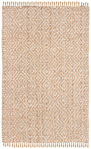 Safavieh Natural Fiber 5' x 8' Area Rug, Ivory/Natural, large