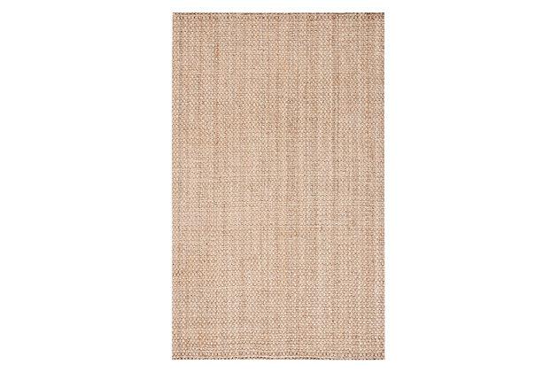 Safavieh Natural Fiber 5' x 8' Area Rug, Natural, large