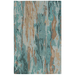 "Sardinia Mirage 3'6"" x 5'6"" Rug, Blue, large"
