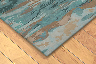 "Sardinia Mirage 5' x 7'6"" Indoor/Outdoor Rug, Blue, rollover"