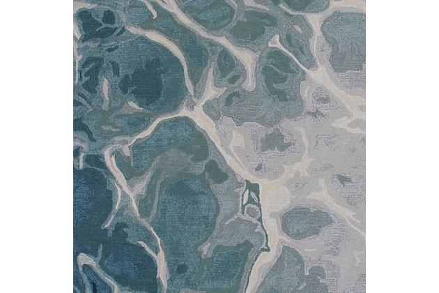 "Sardinia Fjord 5' x 7'6"" Rug, Blue, large"
