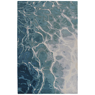 "Sardinia Fjord 7'6"" x 9'6"" Rug, Blue, large"