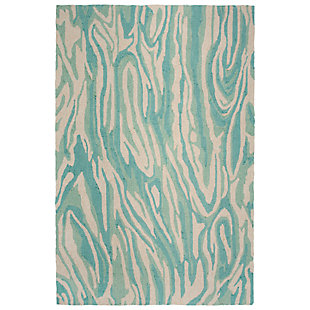 "Melida Mineral 5' x 7'6"" Indoor/Outdoor Rug, Blue, large"