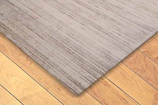 "Hanley Irregular 4'10"" x 7'6"" Indoor/Outdoor Rug, Natural, rollover"