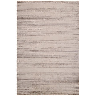 "Hanley Irregular 4'10"" x 7'6"" Indoor/Outdoor Rug, Natural, large"