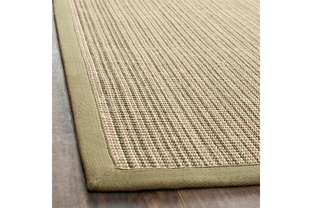 Safavieh Natural Fiber 5' x 8' Area Rug, Green, large