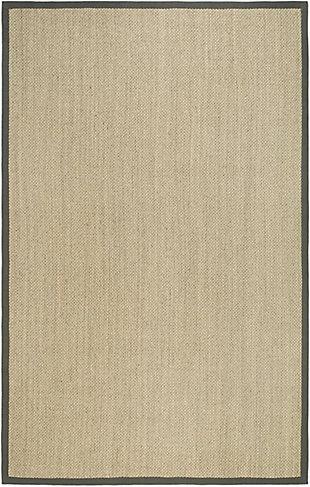 Safavieh Natural Fiber 5' x 8' Area Rug, Marble/Gray, large