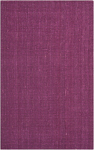 Safavieh Natural Fiber 5' x 8' Area Rug, Purple, large