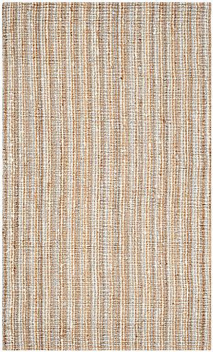 Safavieh Natural Fiber 5' x 8' Area Rug, Gray/Natural, large