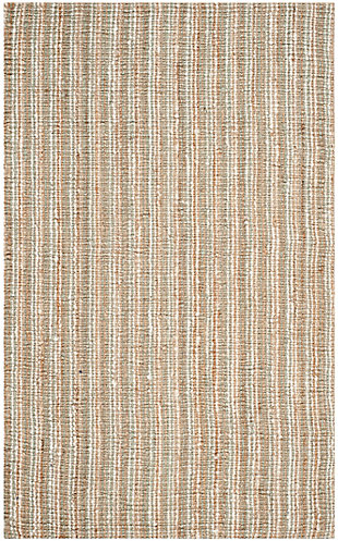 Safavieh Natural Fiber 5' x 8' Area Rug, Sage/Natural, large