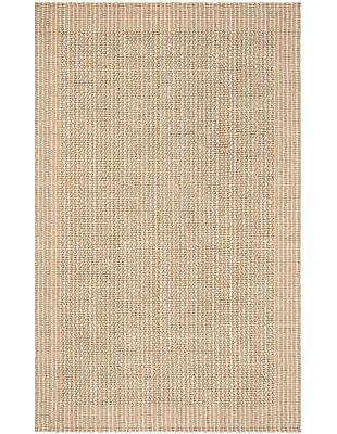 Safavieh Natural Fiber 5' x 8' Area Rug, Ivory/Beige, large