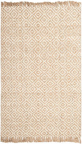 Safavieh Natural Fiber 5' x 8' Area Rug, Natural/Ivory, large