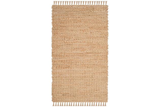 Safavieh Natural Fiber 4' x 6' Area Rug, Natural, large