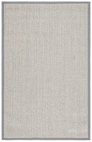 Safavieh Natural Fiber 5' x 8' Area Rug, Gray, large