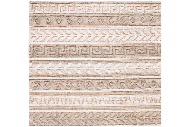 Safavieh Natural Fiber 8' x 10' Area Rug, Green/Ivory, large