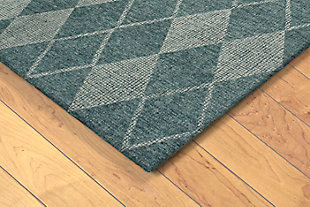 "Irvine Paragon 3'6"" x 5'6"" Rug, Green, rollover"