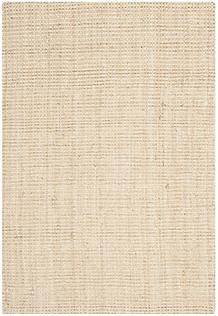 Safavieh Natural Fiber 6' x 9' Area Rug, Ivory, large