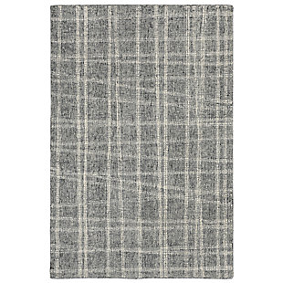 "Irvine Patchwork 3'6"" x 5'6"" Rug, Gray, large"