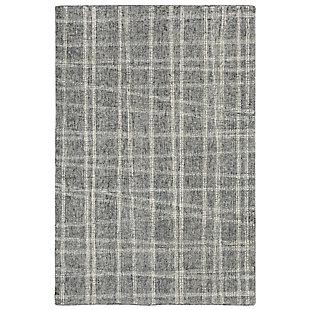 "Irvine Patchwork 3'6"" x 5'6"" Rug, Gray, large"