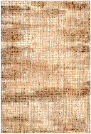 Safavieh Natural Fiber 6' x 9' Area Rug, Natural, rollover