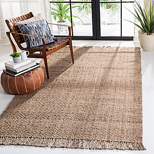 Safavieh Natural Fiber 5' x 8' Area Rug, Gray/Natural, rollover