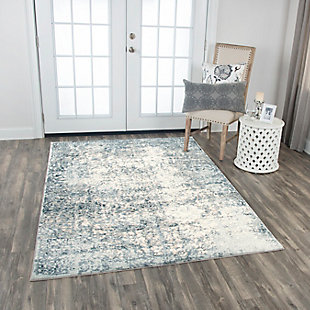 "Glamour Glamour Neutral 5'3""x7'6"" Power-Loomed Rug, Cream/Gray, rollover"