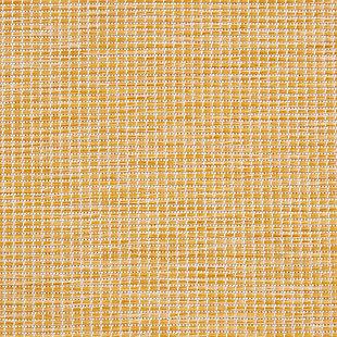 "Nourison Positano 2'2"" X 12' Yellow Brushstroke Indoor/outdoor Rug, Yellow, large"