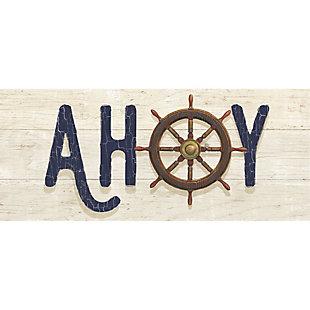 """Bungalow Nautique Ahoy 2'1"""" x 5' Runner, , large"""