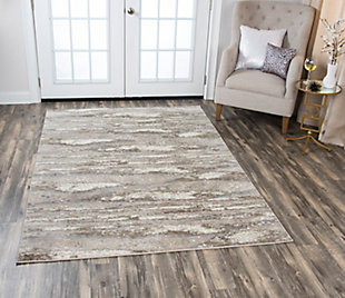 """Rizzy Home Encore 5'2"""" x 7'3"""" Power-Loomed Area Rug, , rollover"""