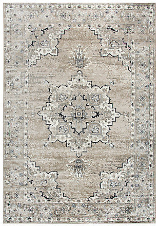 """Rizzy Home Encore 5'2"""" x 7'3"""" Power-Loomed Area Rug, , large"""