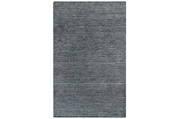 """Rizzy Home Vista 7'9"""" x 9'9"""" Tufted Area Rug, Gray, large"""