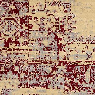 "Nourison Grafix 3'9"" x 5'9"" Center Medallion Rug, Cream/Red, large"